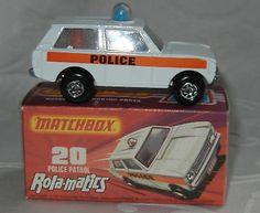 MATCHBOX LESNEY SUPERFAST ROLAMATICS No 20 POLICE PATROL MIB MINT IN MINT J BOX - http://www.matchbox-lesney.com/23064