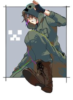 smns(@FiiNHwQRlCtpOUy)さん / Twitter Minecraft Anime, Minecraft Fan Art, Anime Oc, Anime Chibi, Yandere Boy, Shakugan No Shana, Anime Akatsuki, Cute Animal Drawings, Manga Games