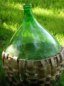 Perhaps my biggest yard sale find ever --- a vintage demijohn! This past Saturday, I snuck away from the Shutters sidewalk sale to venture...