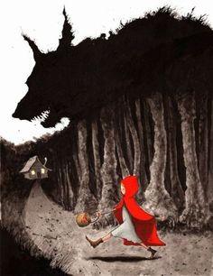 Красная шапочка и Волк. Сказки и Краски: Сказки мира