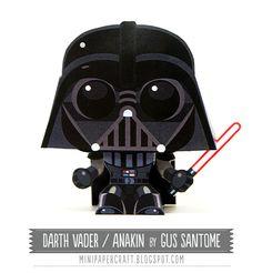 Darth Vader - Mini Papercraft: Movies