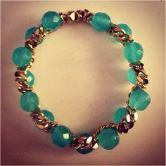 Aqua chain - click picture to purchase! - $32