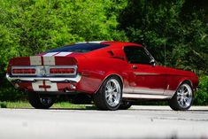 1967 Shelby Gt500, Ford Mustang 1964, American Classic Cars, Red Candy, Muscle Cars, Dream Cars, Life, Red Candy Bars