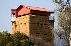 File:Anglo-Boer War Blockhouse at Harrismith, Free State. Small Castles, War Novels, Free State, Farm Toys, Our Town, African History, Military History, Colonial, Landscape Photography