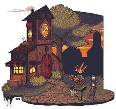 Pixels: Heading Home by ChippyFish.deviantart.com on @DeviantArt