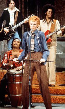 David Bowie performing on the Dick Cavett Show. Photograph: Ann Limongello/ABC