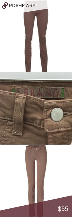 """J. Brand Pencil Leg Skinny in Truffle Color EUC Waist:14"""" Inseam:27""""  All measurements are taken with the item laid flat.  Excellent Used Condition. No issues! Fit:Skinny ankle jeans Material:See photos Color:Tan. Official name: Truffle 30% off on bundles. I ship same-day from pet/smoke-free home.Buy with confidence.I am a top seller with close to 700 5-star ratings and A LOT of love notes.Check them out!😊😎 J Brand Jeans Skinny"""