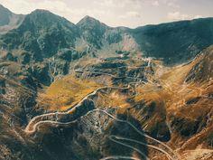 Zdjęcia Rumunia Sibiu Nature Mountains Drogi