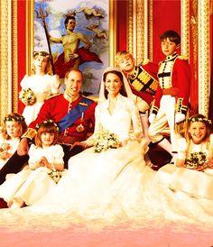 The Royal Wedding photos; love!