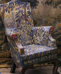 Amazingly intricate mosaic chair by uber talented mosaic artist Candace Bahouth