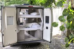 The compact modulable van for 4