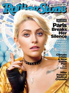 Michael Jackson's Daughter Paris on Her Father's Legacy, Being Bullied and Those Claims She's Not Really His Daughter By Char Adams•@CiCiAdams_ Posted on January 24, 2017 at 11:15am EST