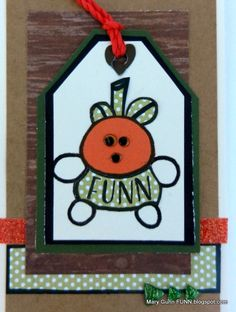 Sticky Boy gets us started with Unusual Pumpkin Cards in October onMary Gunn FUNN