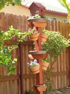 Gardening And Bird House/bath/feeder