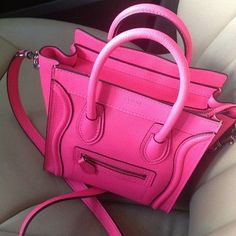 Hello gorgeous pink bag