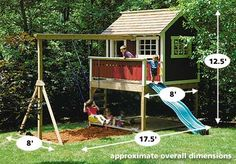 Cute...looking for ideas to repurpose the kiddos play structure