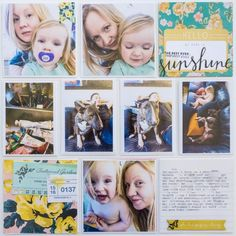 Project Life - Ida Rosberg #cratepaper #maggieholmes Layout using products from Crate Paper and Maggie Holmes!