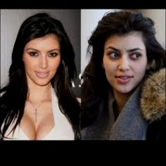 Oh the power of make-up and money - THANK YOU!!!!!!!! I hate that people think that they wake up looking like that!