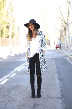 stylish and casual outfit with a hat