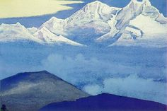 Kangchenjunga (5), 1937 de Nicholas Roerich (1874-1947, Russia)