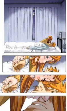ichihime kiss | via Tumblr on We Heart It