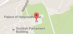 Mapa de Palácio de Holyrood