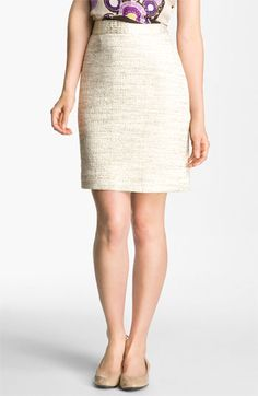 Gold Tweed - kate spade new york 'judy' skirt | Nordstrom