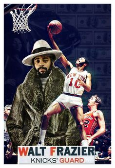 Walt Clyde Frazier Dreams of Girls, Money, Cars, and Championships Basketball Workouts, Sports Basketball, Basketball Players, Nba Pictures, Basketball Pictures, Walt Frazier, Ebony Magazine Cover, Nfl 49ers, The Sporting Life