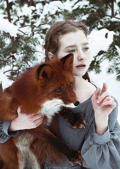 Oto historia dwóch rudych i pięknych istot, którą uwieczniła Alexandra…