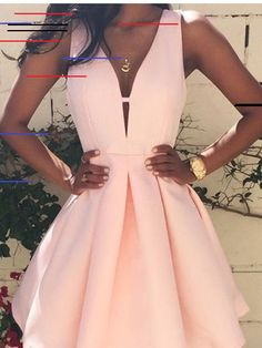 Prom Dresses For Teens, Homecoming Dresses Prom Dress,Prom Gown,Pink Homecoming Dress,Short Homecoming Dresses Dresses Modest Pretty Dresses, Women's Dresses, Beautiful Dresses, Dress Outfits, Mini Dresses, Elegant Dresses, Summer Dresses, Satin Dresses, Summer Outfits