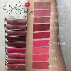 """Milani Amore Matte Lip Cream Ready byk warna 200rb/pc Best seller allure & adorable"""