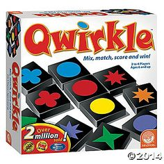 12-9-2015: Quirkle game. I've wanted this game for ages.