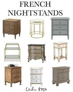 Shop these bedroom nightstands from Walmart home decor #bedroomnightstands #walmarthomedecor chasingdaisiesig | LIKEtoKNOW.it Country House Design, French Country House, French Country Decorating, Farmhouse Style Furniture, Farmhouse Decor, New Apartment Checklist, Walmart Home Decor, Bedroom Night Stands, Nightstands