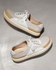 #BottegaVeneta Stuoia Leather #Shoe