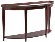 Cherry Sofa Table * Cherry Entrway Table * Cherry Sofa Table With Glass Top  *