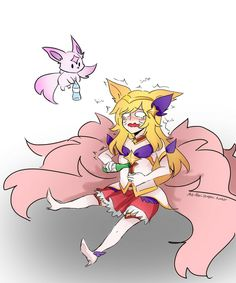 I-It's not my fault that they stole baron! Ahri League, Lol League Of Legends, Princess Zelda, Fan Art, Baron, Fictional Characters, Face Claims, Funny Stuff, Star