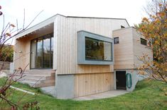 Fritidsbolig Dypeklo - Egil Norli AS - Byggmester Temporary Architecture, Concrete, Home Goods, Garage Doors, Shed, Villa, Cottage, Outdoor Structures, Studio