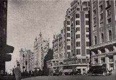 Gran Vía desde Callao, 1953. Autor desconocido.