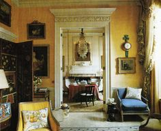 London Drawing Room of Mrs. Bruce. Interior Design Nancy Lancaster and John Fowler