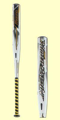 2015 Mizuno Nighthawk -10 Fastpitch Softball Bat: MZNHFP
