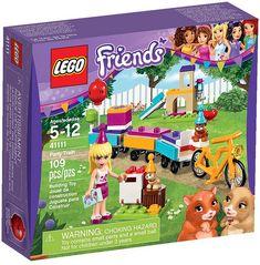 LEGO Friends 41111 - Party Train #lego #legofriends #legofriends2016