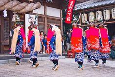 宇和津彦神社 六ツ鹿踊り