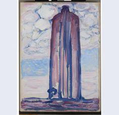 Vuurtoren bij Westkapelle, Piet Mondriaan, 1908.