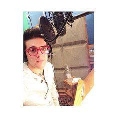 ️Piero at the recording studio