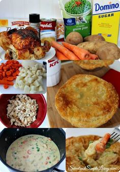 KFC Chicken Pot Pie Copycat Recipe If you love chicken pot pie, then you are going to LOVE this recipe! Check out our KFC Chicken Pot Pie Copycat Recipe! Kfc Chicken Pot Pie Recipe, Chicken Recipes, Chicken Potpie, Casserole Recipes, Crockpot Recipes, Cooking Recipes, Canes Chicken, Latest Recipe, Copycat Recipes