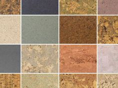 Cork Flooring colors and patterns