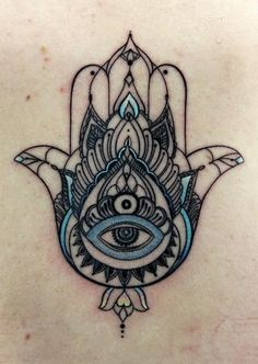 Anna Belozyorova - Hamsa This is the most beautiful hamsa tattoo I've ever seen. - Anna Belozyorova – Hamsa This is the most beautiful hamsa tattoo I've ever seen, kinda makes m - Hamsa Hand Tattoo, Hand Tattoos, 4 Tattoo, Piercing Tattoo, Body Art Tattoos, New Tattoos, Script Tattoos, Arabic Tattoos, Flower Tattoos