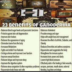 TOTAL LIFE CHANGES - GANODERMA Found in our Gourmet Coffees https://www.totallifechanges.com/charmcrenshaw Independent Business Owner: 6628311 ElainesTLC@gmail.com https://www.facebook.com/CharmT78 https://www.facebook.com/Total-Life-Changes-Club-865501930198428