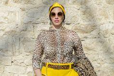 Look Animalier: abbinamento pop con il giallo! - Dalahi Ortiz Personal Shopper a Firenze