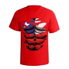 Chile Football World Cup Mens Ripped Effect Flag T-Shirt available @ http://www.world-cup-products-worldwide.com/chile-2014-football-world-cup-mens-ripped-effect-flag-t-shirt/